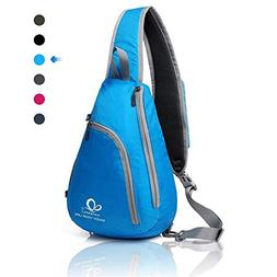 WATERFLY Chest Sling Shoulder Backpacks Bags Fashion Cute Cr