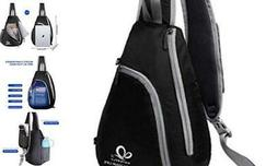 Chest Sling Shoulder Backpacks Bags Crossbody Rope Triangle