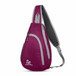 Waterfly Chest Sling Shoulder Backpacks Bags Fashion Rope Tr