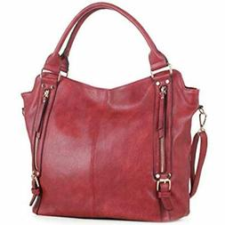 DELUXITY Hobo Shoulder Bags For Women Tote Handbags Fashion