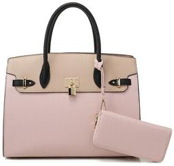 DELUXITY | Designer Top Handle Satchel Handbag | Tote Bag Br