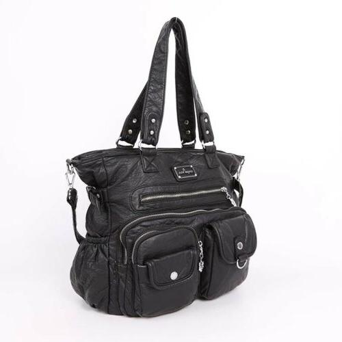ANGELKISS Soft Washed Handbags Brand