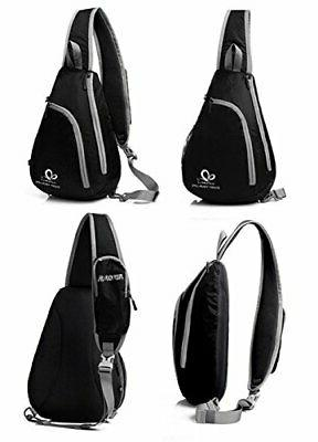 Chest Sling Bags Rope Rucksack Hiking