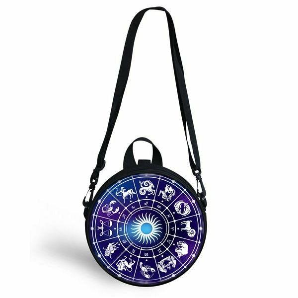 Gothic Constellations Mini Round Shoulder Circle Sling