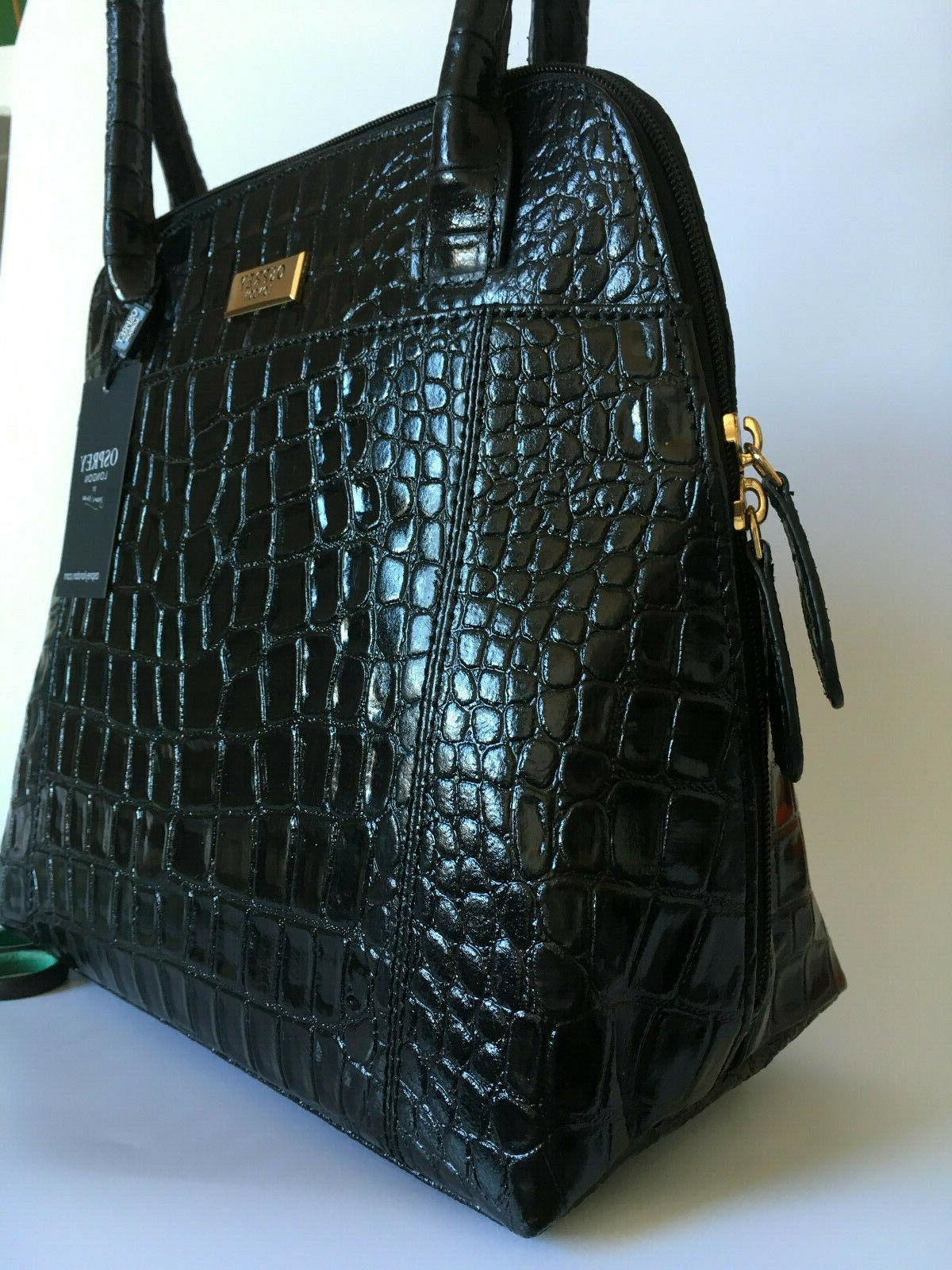 OSPREY Bag Black Croc Womens