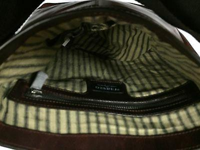 NWT Authentic Leather William Laptop/Shoulder Bag