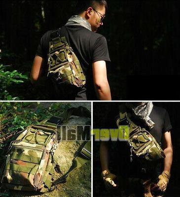 Outdoor Military Chest Pack Climbing Bags