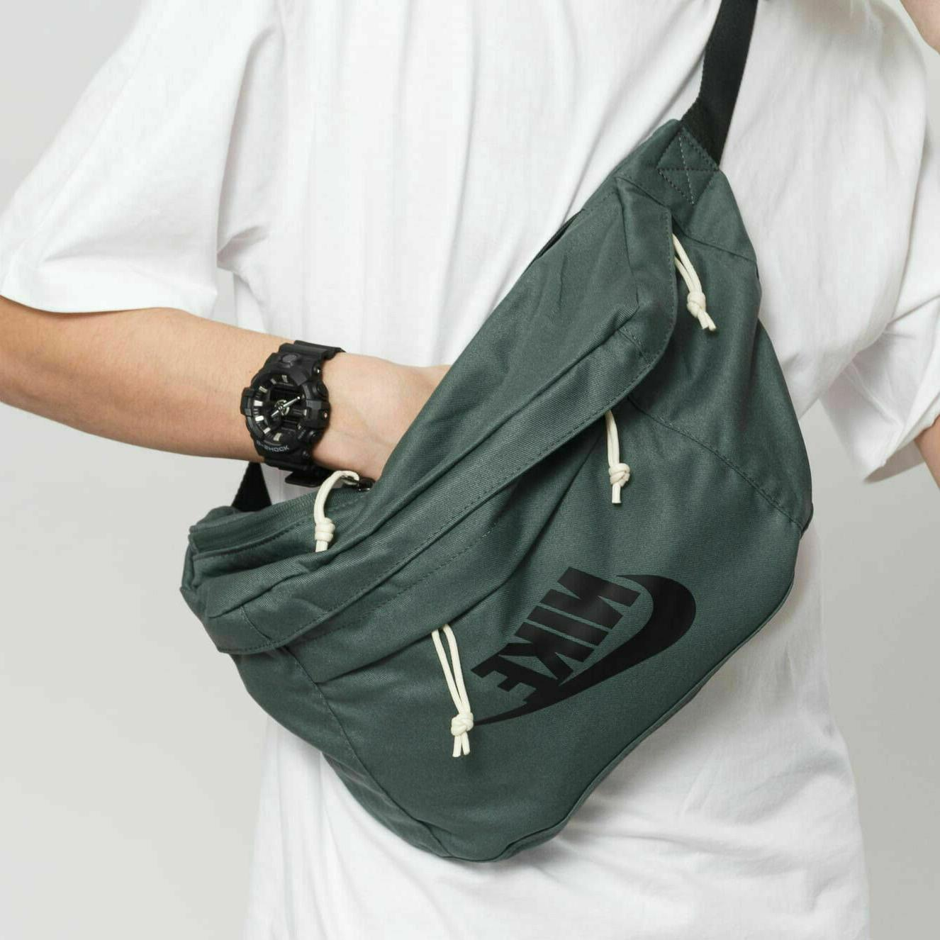 tech hip pack one size green ivory