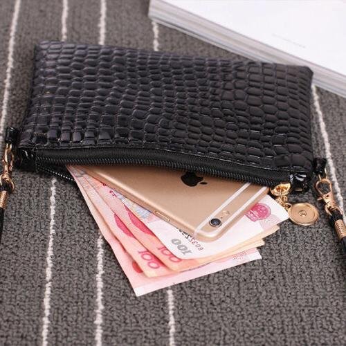 US Small Faux Leather Shoulder Purse Crossbody