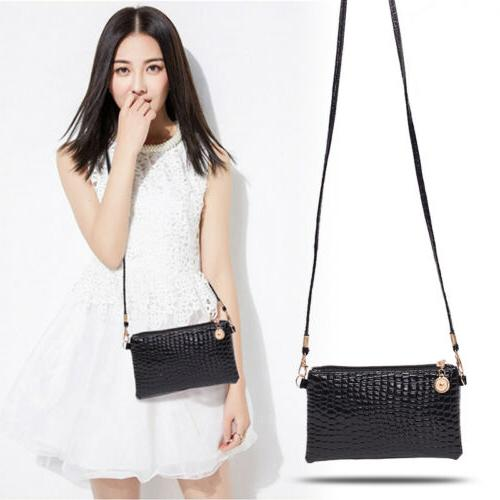 US STOCK Faux Leather Purse Crossbody