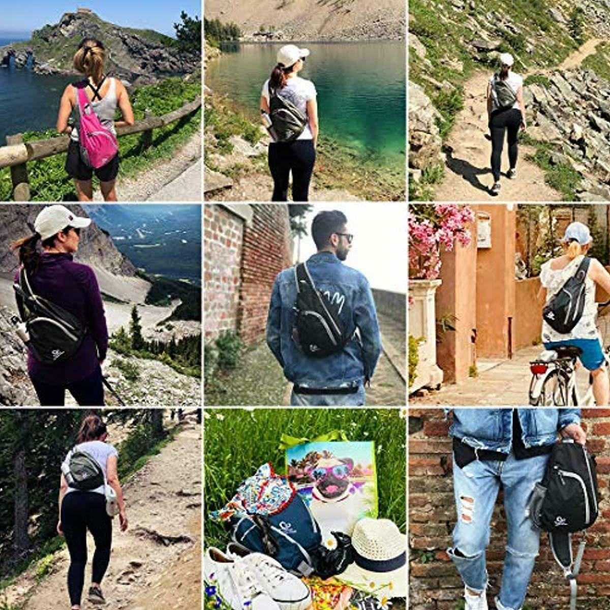 Waterfly Chest Backpacks Triangle fo