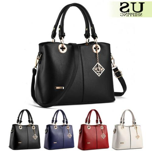 Women Lady Bags Purse Leather Messenger Hobo Satchel