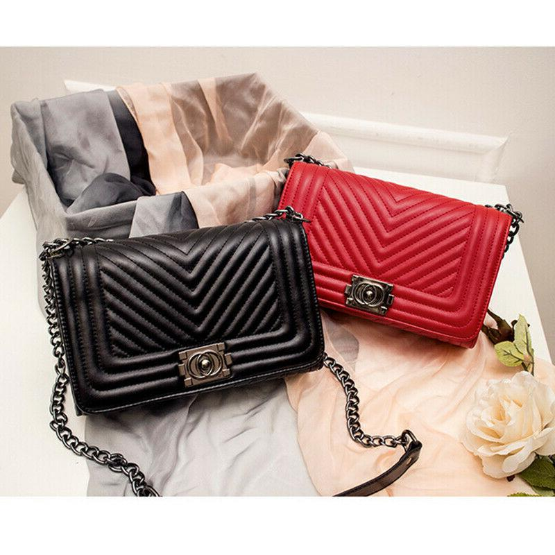 Women's Quilted Chain Bag Ladies Shoulder Bag