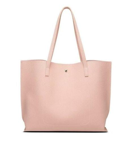 Women's Faux Leather Tote Bag from Dreubea, Big Capacity