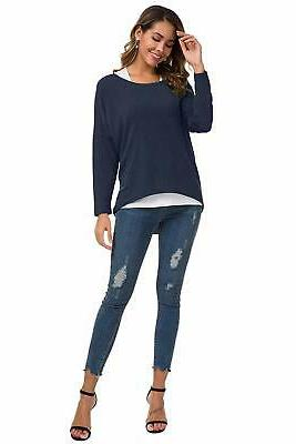 women s sweater casual oversized baggy off
