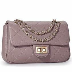 Leather Crossbody Bags for Women Calfskin Quilted Small Shou