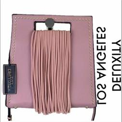 DELUXITY LOS ANGELES NWT LARGE PINK SHOULDER/ CROSSBODY