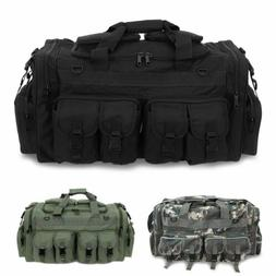 Men's Military Molle Duffle Shoulder Bag Tactical Cargo Gear