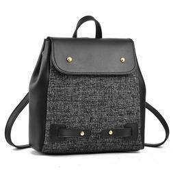 Mini Shoulder Bags Backpack For Women Multi-functional Leath