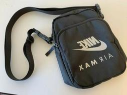 NEW NIKE AIR MAX Small Items GREEN Unisex Crossbody Messenge
