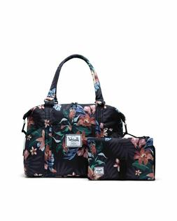 NWT! Herschel Supply Co Strand Sprout Tote Diaper Bag BLack