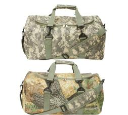 "One 19"" REVERSIBLE CAMO Duffle Shoulder Bag Gym Camouflage T"