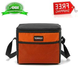 SANNE Picnic Lunch Bag Outdoor Thermos Portable Travel Shoul
