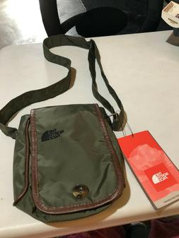 THE NORTH FACE SO CUTE Crossbody Shoulder Bag TAUPE Green -
