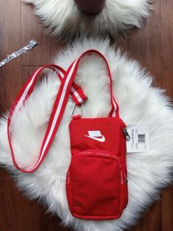 Nike Sport Small Items Crossbody Shoulder Bag Red Multiple P