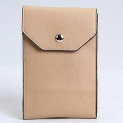 Trendy PU Leather Wallet Crossbody Cell Phone Shoulder Bag P