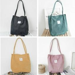 Women's Canvas Tote Bags Large Capacity Handbag Ladies Shoul
