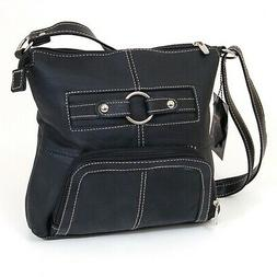 Women's Purse Cross Body Shoulder Bag Leather Handbag Organi